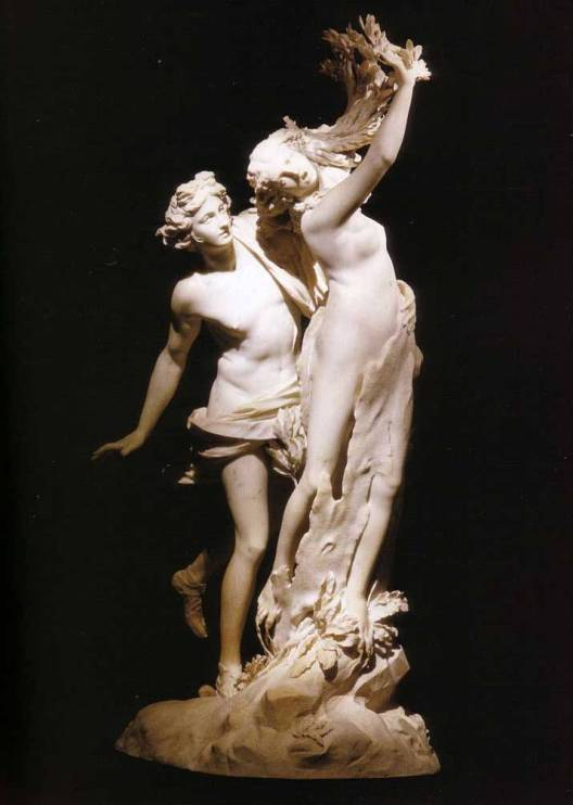 Apollon et Daphné, sculpture du Bernin (1622-1625)