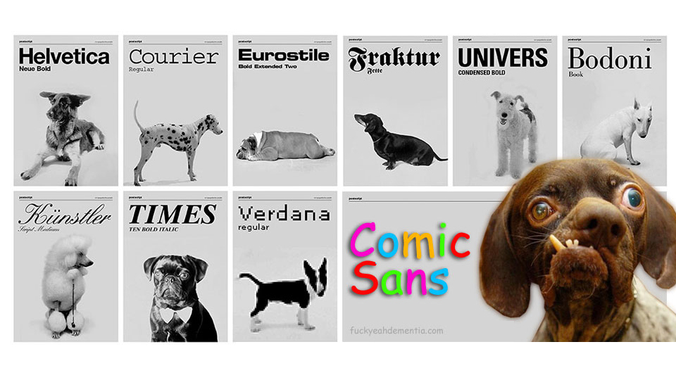 font-dogs