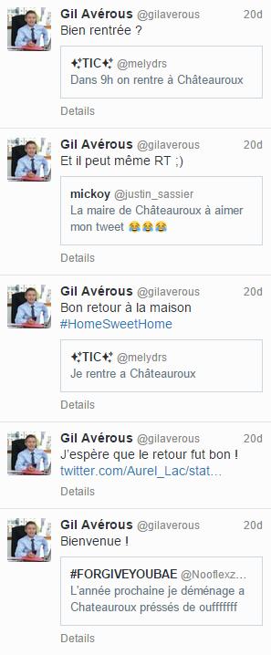 Gil Averous répond